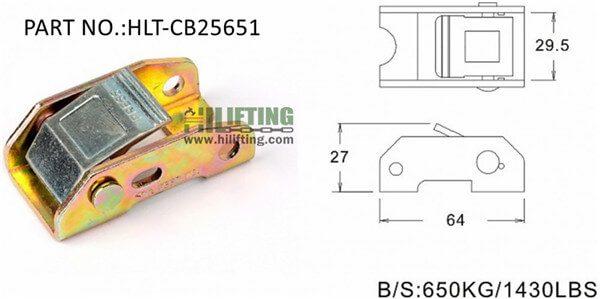 Cam buckle-CB25651