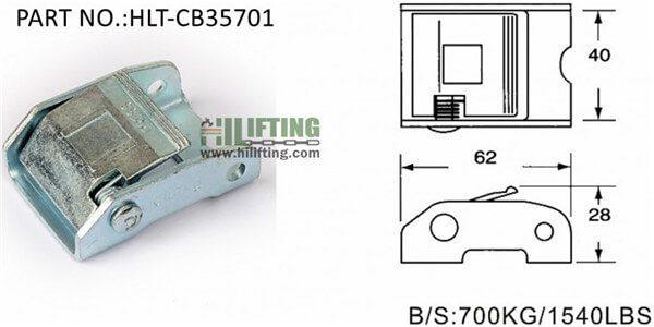 Cam buckle-CB35701