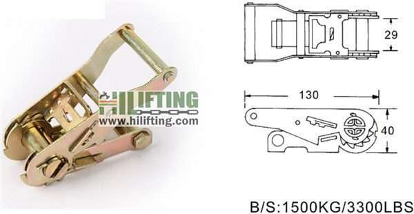 RB25151-Ratchet Buckle