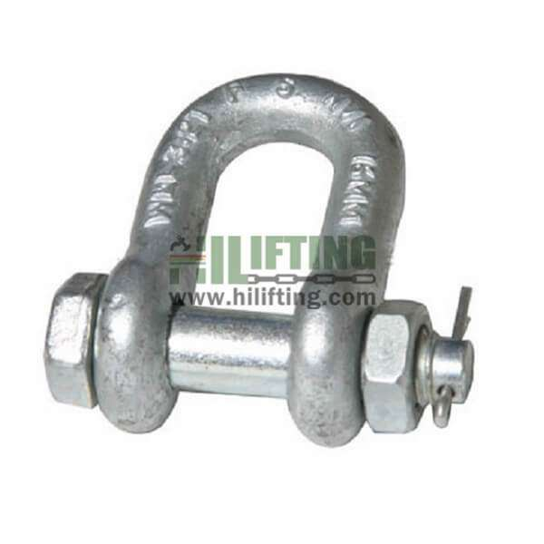 AS 2741 (Australian) Type Grade S Dee Shackle With Safety Pin