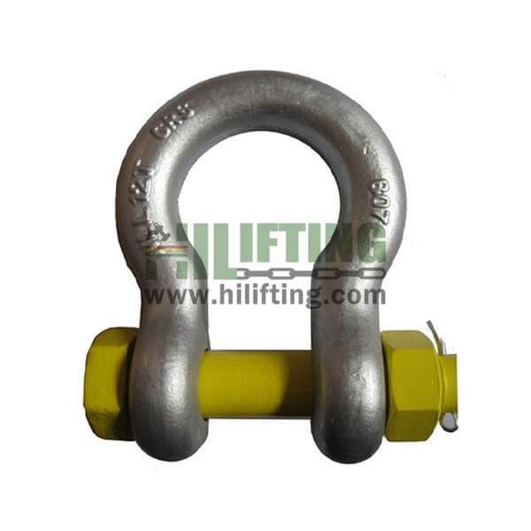AS2741 Type Grade S Bow Shackle With Safety Pin