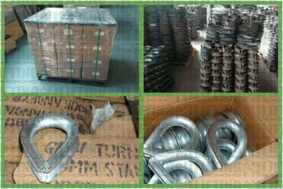 BS464 Wire Rope Thimble Packages