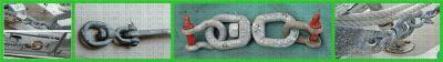 Chain Swivel G-401 Applications