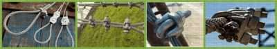 DIN 1142 Malleable Wire Rope Clip Applications
