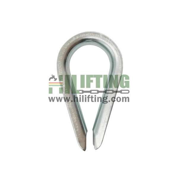 European Commercial Type Wire Rope Thimble