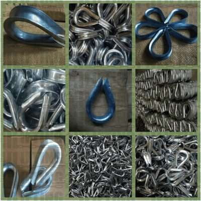 European Commercial Type Wire Rope Thimble Details