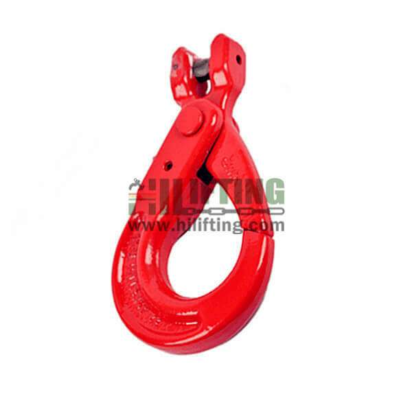 G80 European New Type Clevis Self-Locking Hook