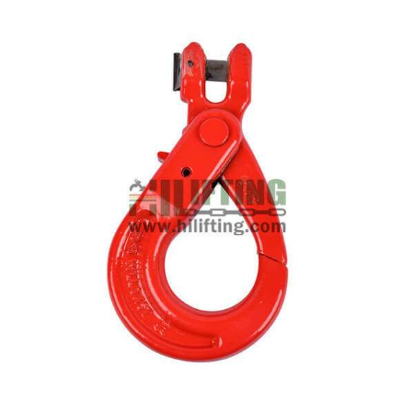 G80 European New Type Clevis Selflocking Hook