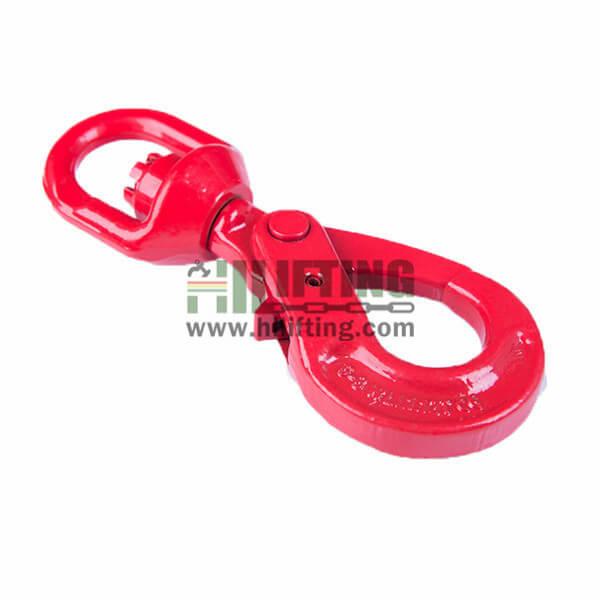 G80 European New Type Swivel Self Locking Hook