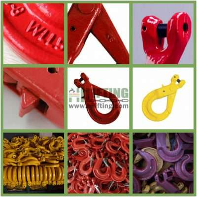 G80 European Type Clevis Self-Locking Hook Details