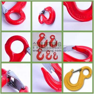 G80 European Type Eye Sling Hook Details