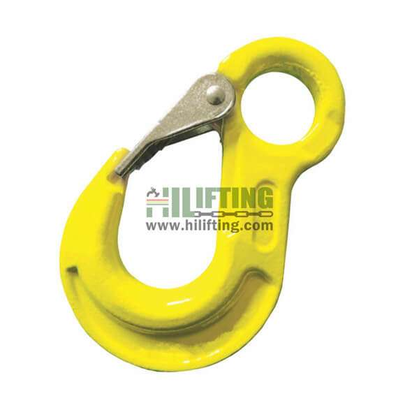 G80 Eye Sling Hook With Cast Latch