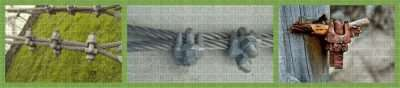 Galvanized Malleable Wire Rope Clip Din741 Applications