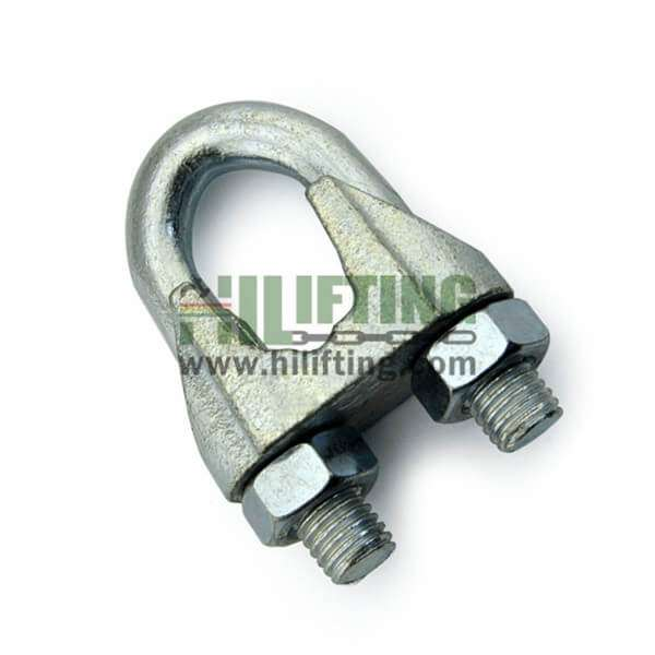 Galvanized Malleable Wire Rope Clip Din741