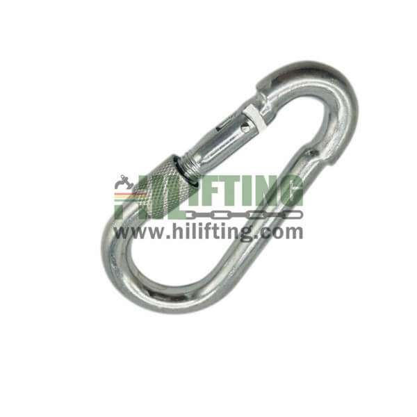 Galvanized Snap Hook With Screw DIN5299D