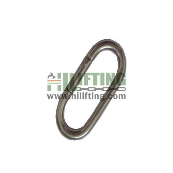 Galvanized Straight Snap Hook
