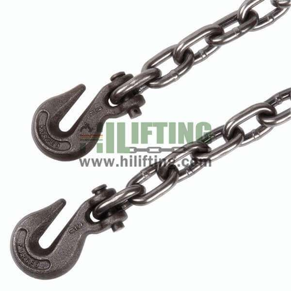 Grade 43 Binder Chain With Clevis Grab Hooks