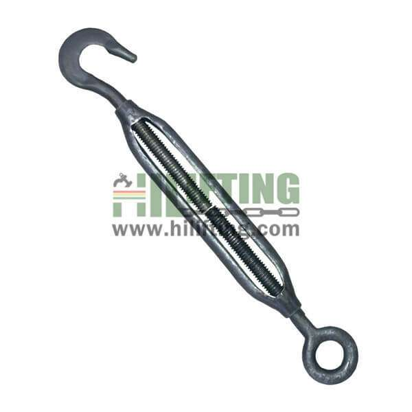 JIS Type Frame Forged Turnbuckles Eye and Hook