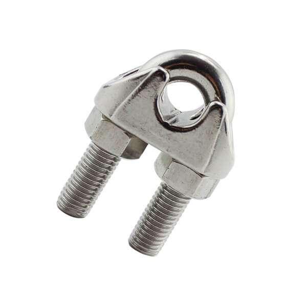 Stainless Steel 316 US Type Malleable Wire Rope Clip