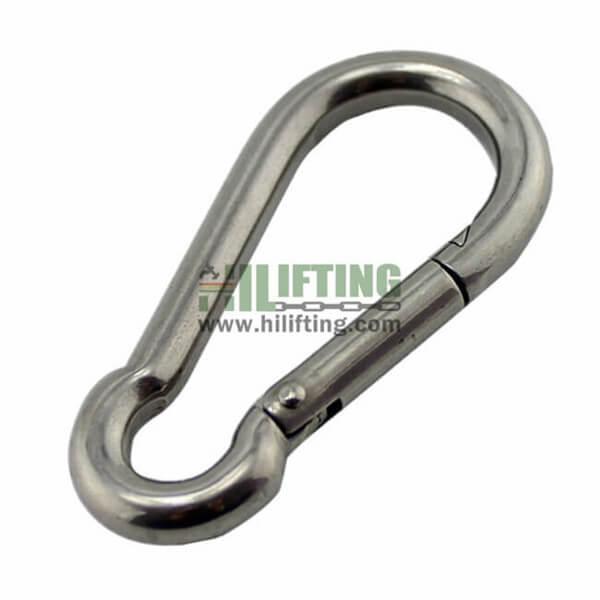 Stainless Steel Carabiner Snap Hook DIN5299 Form C