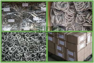 Stainless Steel D Ring Packages
