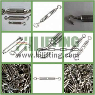 Stainless Steel DIN1480 Turnbuckle Details