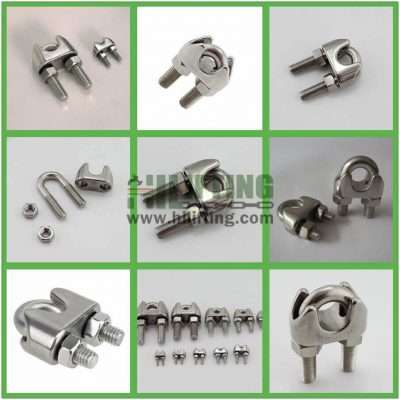 Stainless Steel DIN741 Wire Rope Clip Details
