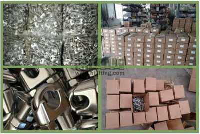 Stainless Steel DIN741 Wire Rope Clip Packages