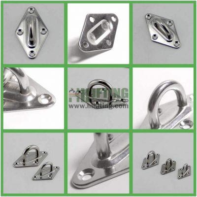 Stainless Steel Diamond Pad Eye Details