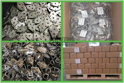 Stainless Steel Diamond Pad Eye Packages