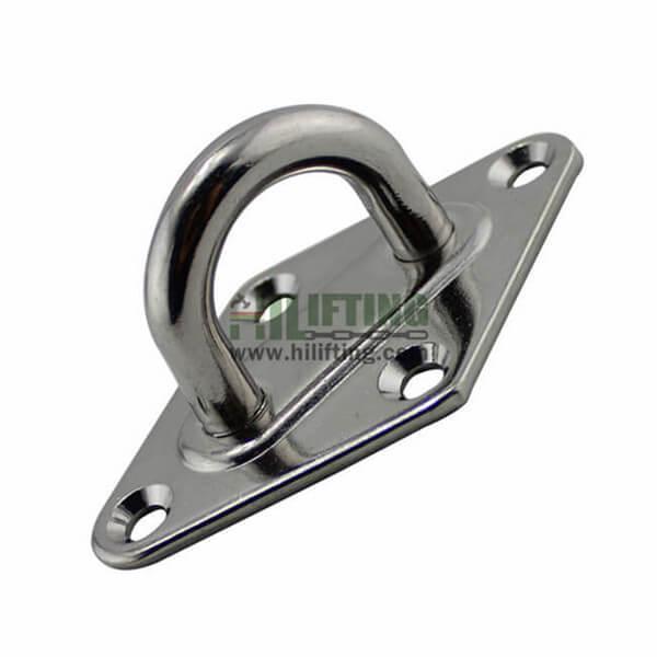 Stainless Steel Diamond Pad Eye Plate