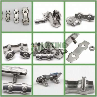 Stainless Steel Duplex Wire Rope Clip Details