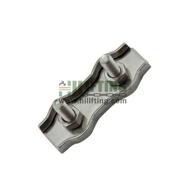 Stainless Steel Duplex Wire Rope Clip