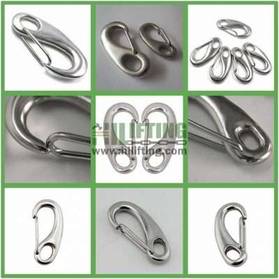 Stainless Steel Egg Shaped Snap Hook Details