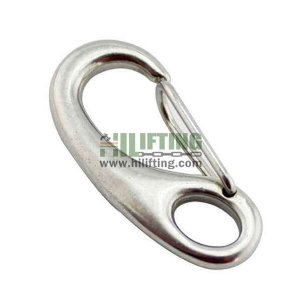 Stainless Steel Egg Shaped Snap Hook