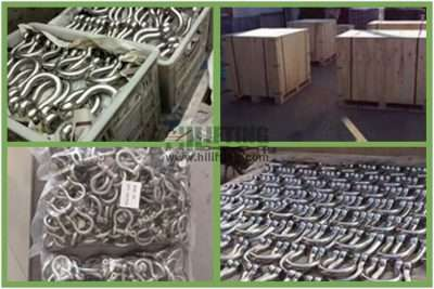 Stainless Steel European Commercial Large Bow Shackle Packages