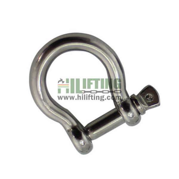 Stainless Steel European Commercial Large Bow Shackle