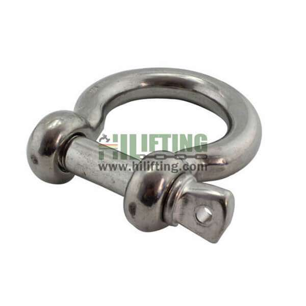 Stainless Steel European Type Large Bow Shackle