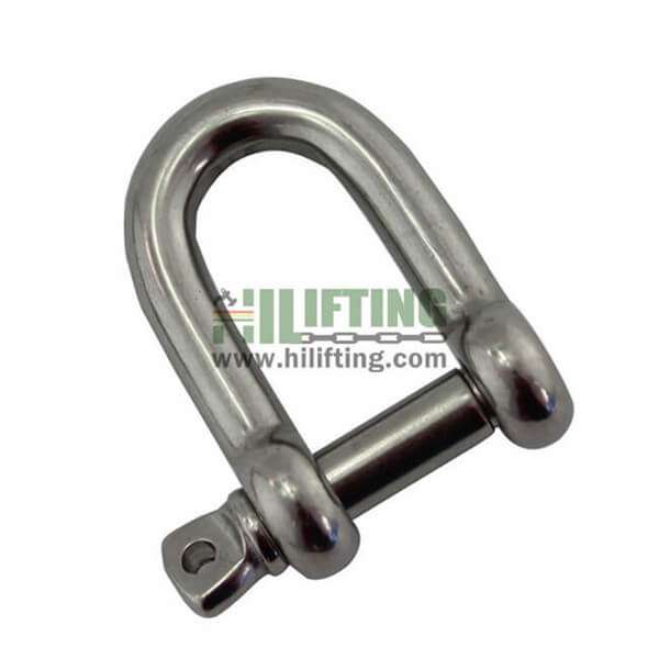 Stainless Steel European Type Large D Shackle