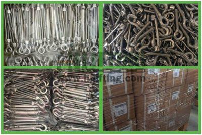 Stainless Steel European Type Turnbuckle Eye and Hook Packages