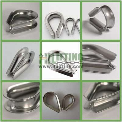 Stainless Steel European Type Wire Rope Thimble Details