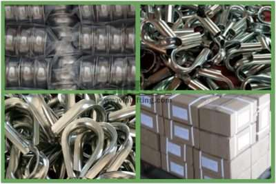 Stainless Steel European Type Wire Rope Thimble Packages