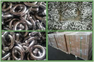 Stainless Steel Eye Bolt DIN 580 Packages