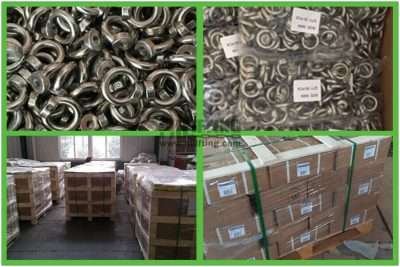 Stainless Steel Eye Nut DIN 582 Packages