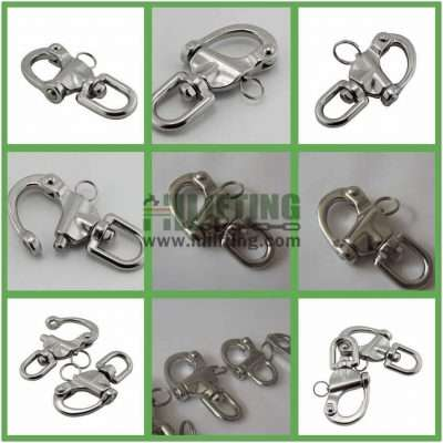 Stainless Steel Eye Swivel Snap Shackle Details