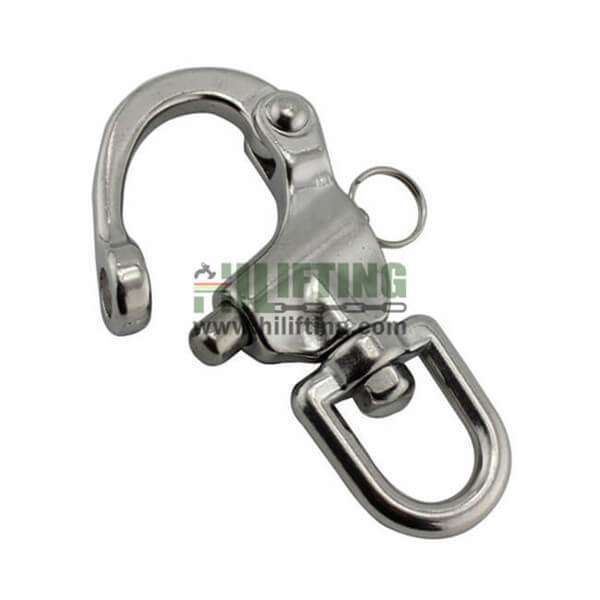 Stainless Steel Eye Swivel Snap Shackle