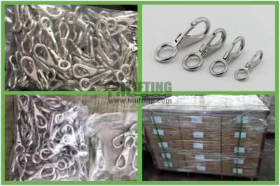 Stainless Steel Fixed Eye Snap Packages
