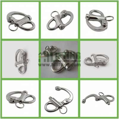 Stainless Steel Fixed Snap Shackle Details