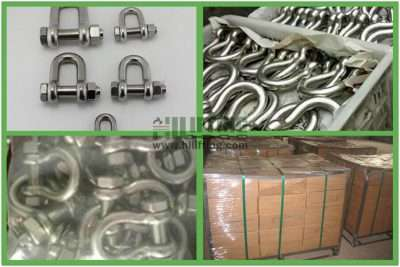 Stainless Steel G2150 Bolt Type Chain Shackle Packages
