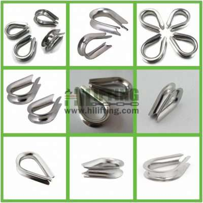 Stainless Steel G411 Thimble Details